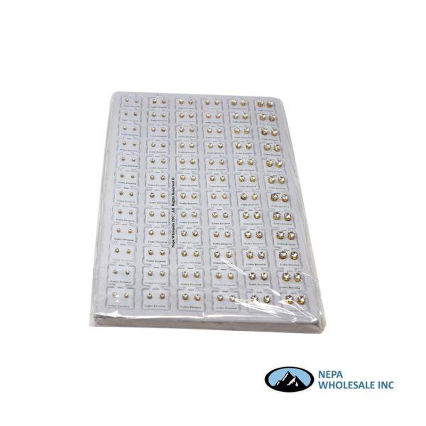 Earring Cubic 72 CT Board