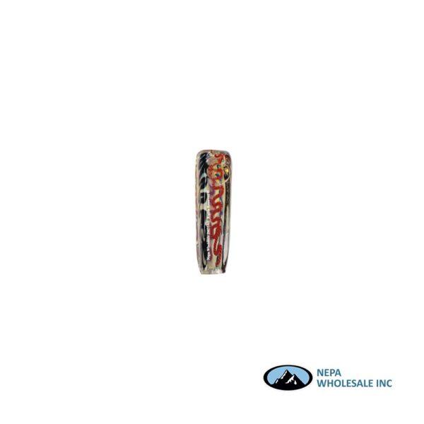 Pipe 4 inch Square W/ Rasta Design