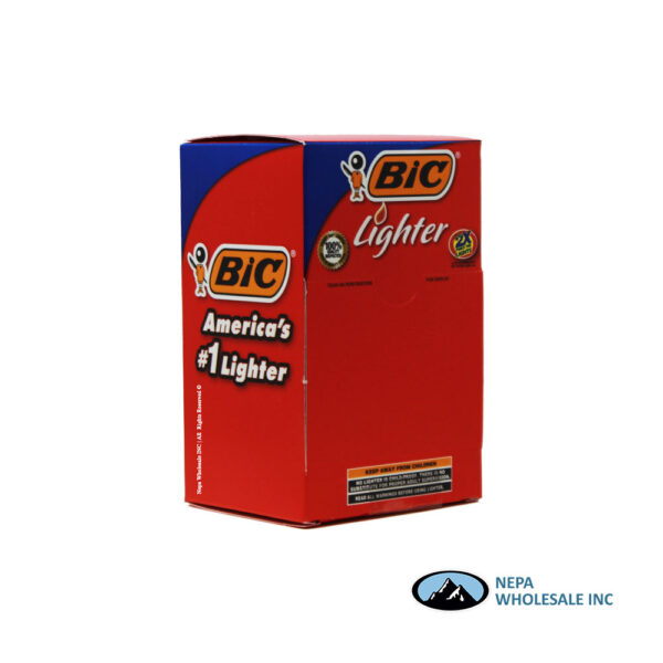 bic lighter 4 display