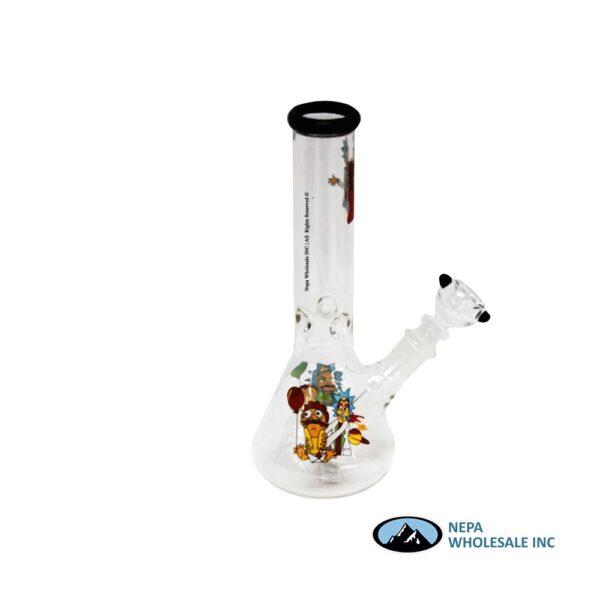 Pipe Water 10 inch perculator clear