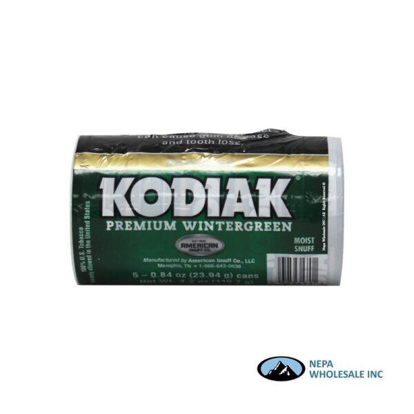 Kodiak 5-0.84oz Wintergreen Pouches
