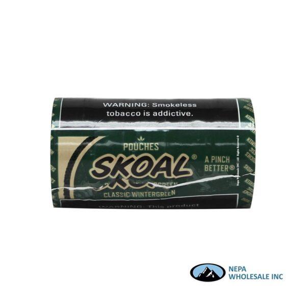 Skoal 5-0.82oz Wintergreen Pouches