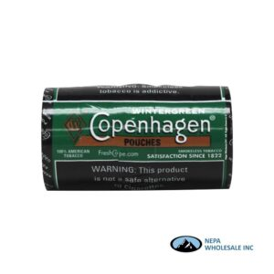 Copenhagen 5-0.82oz Wintergreen Pouches