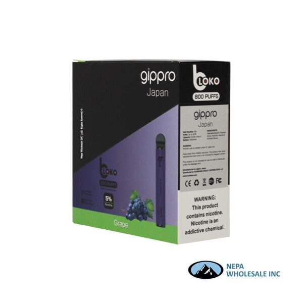 Bloko Disposable 5% Grape 10PK