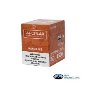 Vaporlax Disposable 5% Mango Ice 10PK