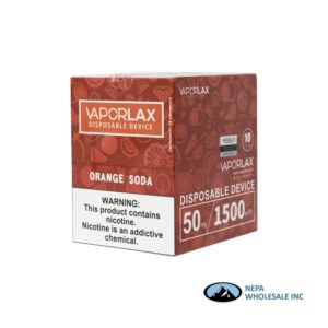 Vaporlax Disposable 5% Blue Razz 10PK