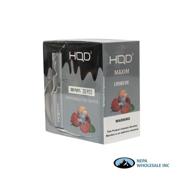HQD Maxim Disposable 5% Lychee Ice 1x20PK