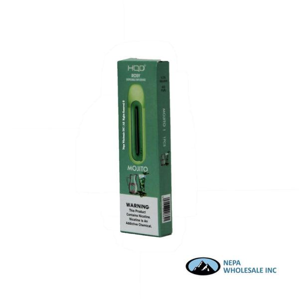 HQD Rosy Disposable 5% Mojito 8PK