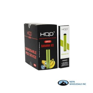 HQD Maxim Disposable 5% Banana Ice 1x20PK