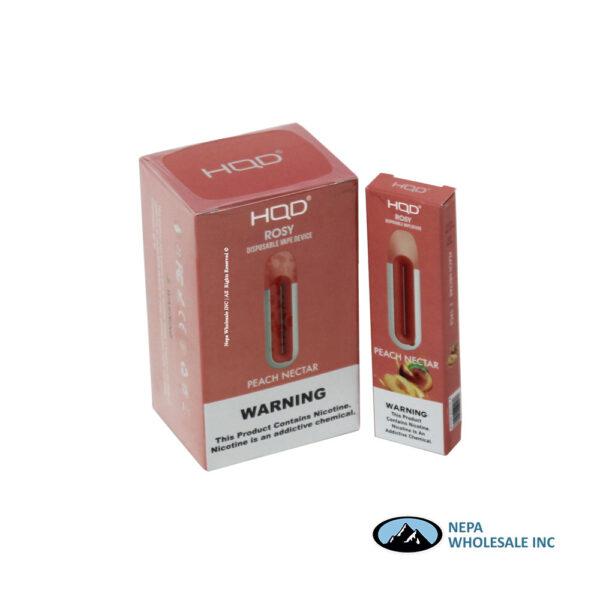 HQD Rosy Disposable 5% Peach Nector 8PK