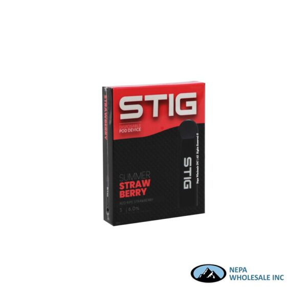 STIG Disposable Pod 6% Summer Strawberry 3x10PK