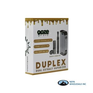 Ooze Duplex Silver Dual Extract Vaporizer 1CT