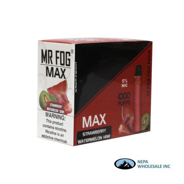 Mr Fog Max 5% Strawberry Watermelon Kiwi 10PK