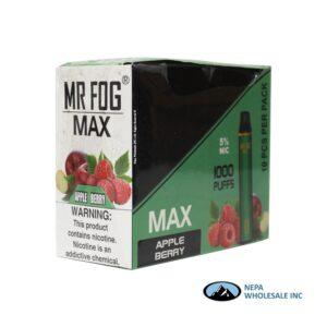 Mr Fog Max 5% Apple Berry 10PK