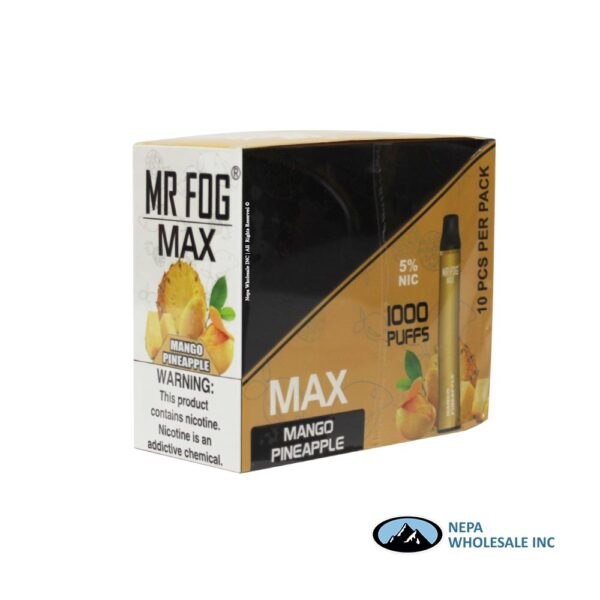 Mr Fog Max 5% Mango Pineapple 10PK