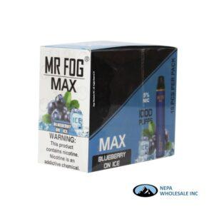 Mr Fog Max 5% Blueberry on Ice 10PK