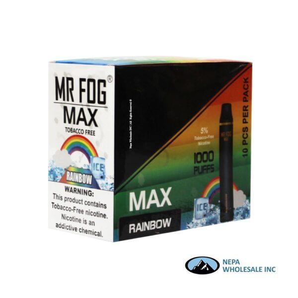 Mr Fog Max 5% Rainbow 10PK