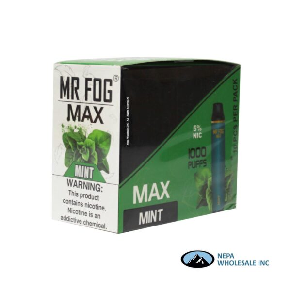 Mr Fog Max 5% Mint 10PK