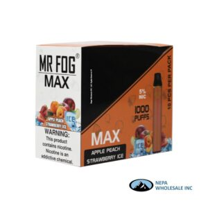Mr Fog Max 5% Blueberry Raspberry Lemon 10PK