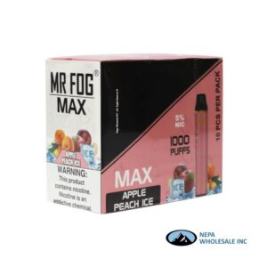 Mr Fog Max 5% Apple Peach Ice 10PK