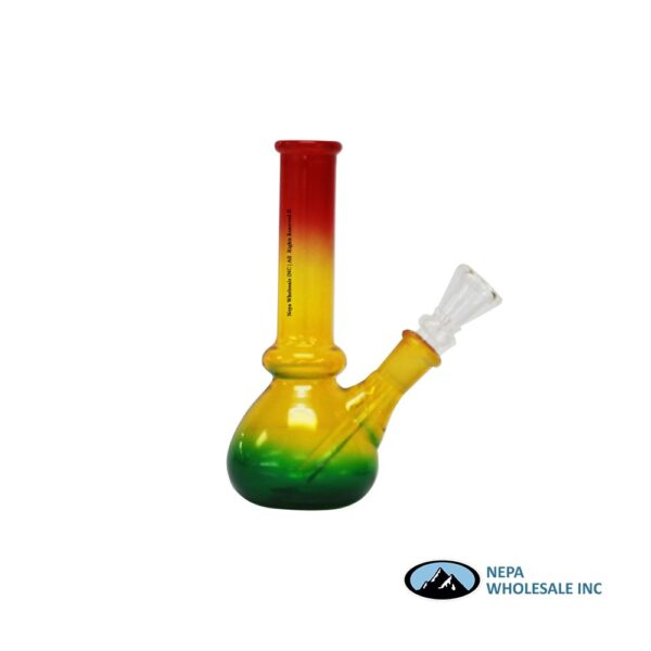 Pipe Water 6 inch gog rasta color