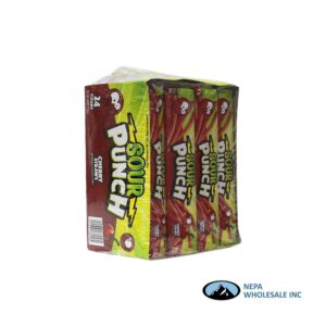 Sour Punch Straws Cherry 2 oz. - 24 CT