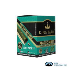 King Palm Flavors 2 Mini Rolls Magic Mint 20CT