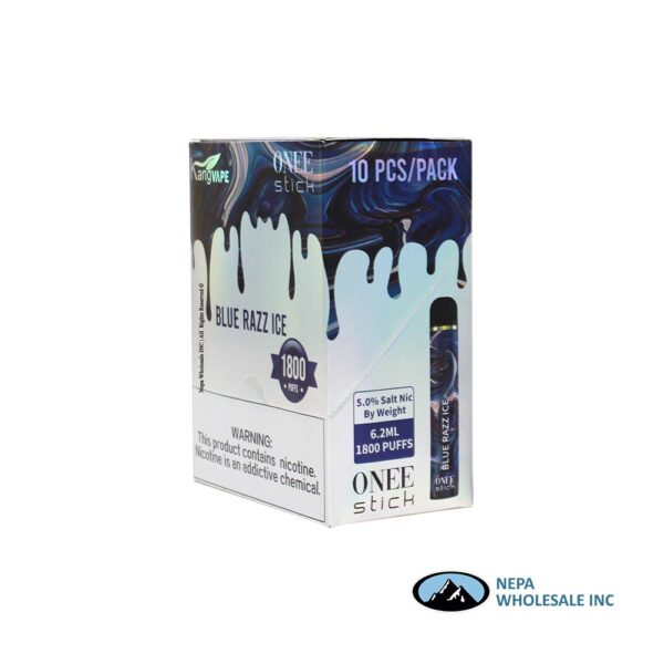 Kang Vape 5% Blue Razz Ice 1x10PK Disposable
