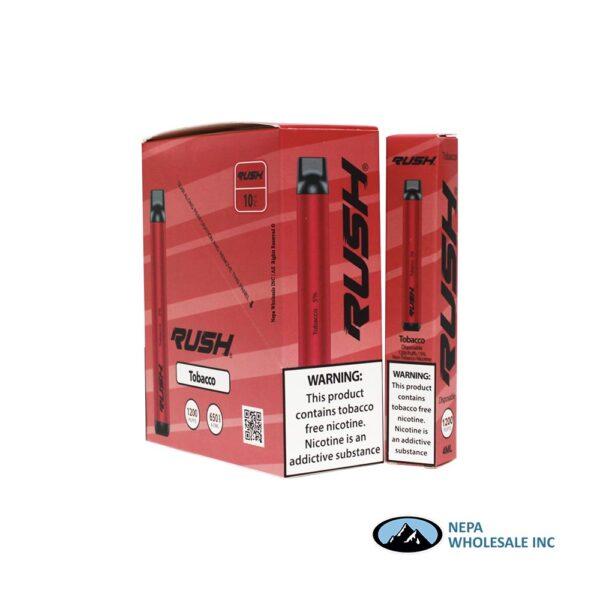 Rush 5% Tobacco 10PK Disposable