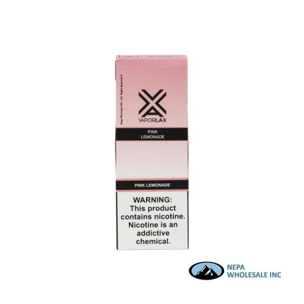 Vaporlax Disposable 5% Pink Lemonade 10PK