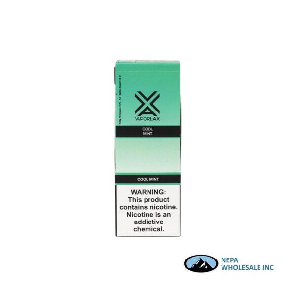 Vaporlax Disposable 5% Cool Mint 10PK