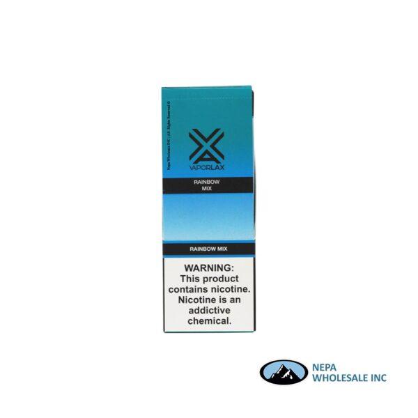 VaporLax X Disposable 5% Rainbow Mix 10PK