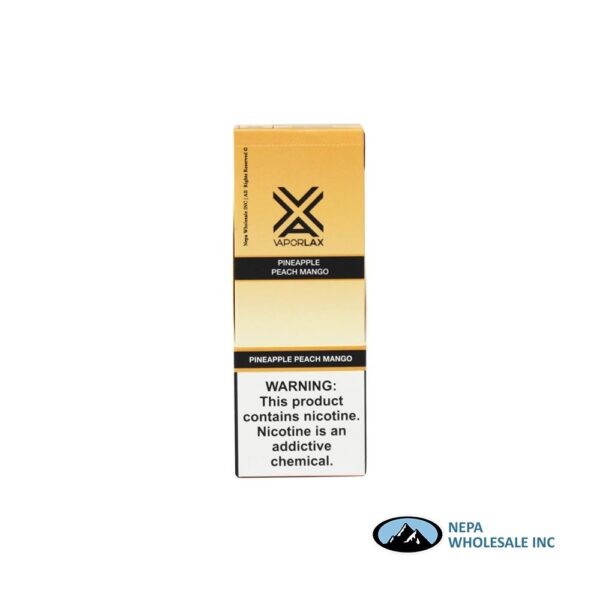 VaporLax X Disposable 5% Pineapple Peach Mango 10PK