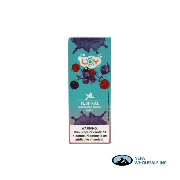 Loy XL 5% Blue Raz 1X10PK Disposable