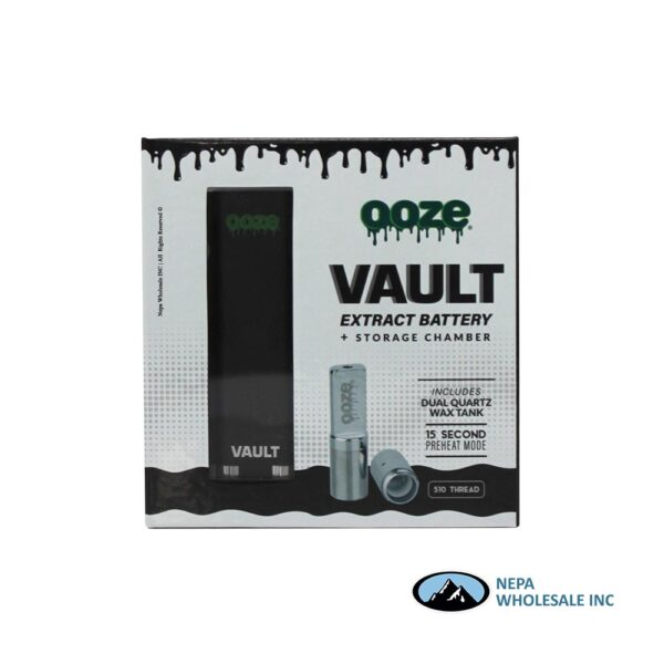 Ooze Vault Pather Black Extract Batter & Storage Chamber 1CT