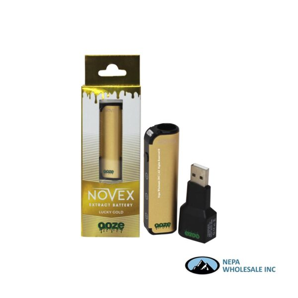 Ooze Novex Lucky Gold Extract Battery 1CT