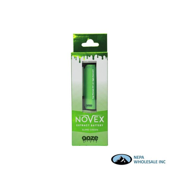 Ooze Novex Slime Green Extract Battery 1CT
