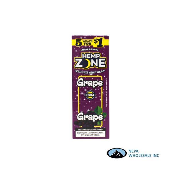Hemp Zone 5 for $0.99 Grape 15CT