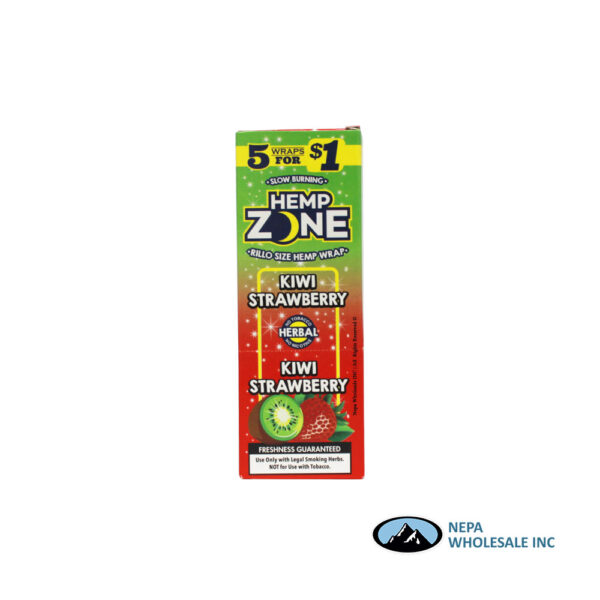 Hemp Zone 5 for $0.99 Kiwi Strawberry 15CT