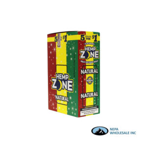 Hemp Zone 5 for $0.99 Natural 15CT