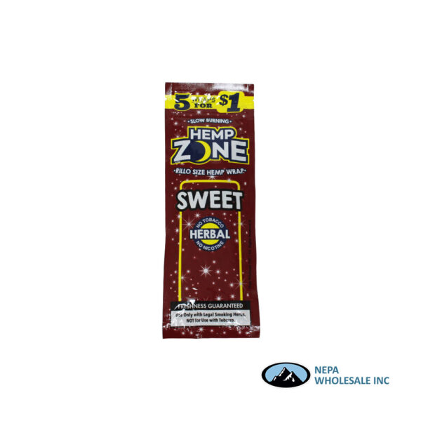 Hemp Zone 5 for $0.99 Sweet 15CT