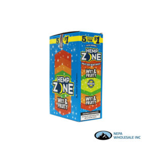 Hemp Zone 5 for $0.99 Wet & Fruity 15CT