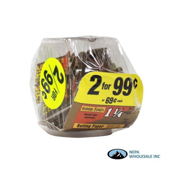 GT Cigarette Paper 2 for $0.99 24CT