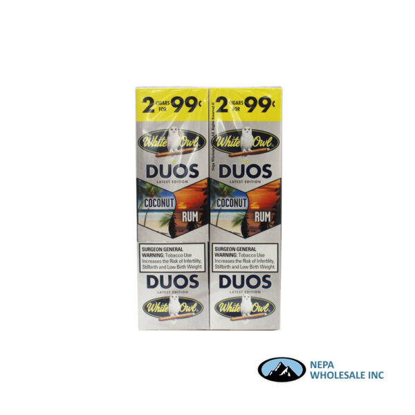 White Owl 2 for $0.99 Coconut & Rum