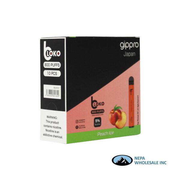 Bloko Disposable 5% Peach Ice 10PK