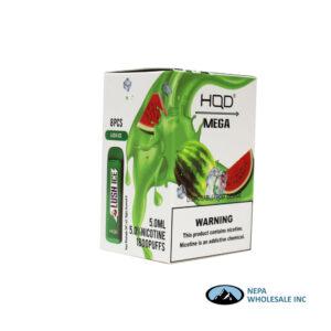 HQD Mega 5% Lush Ice 1X8PK Disposable