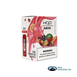 HQD Mega 5% Mixed Fruit 1X8PK Disposable