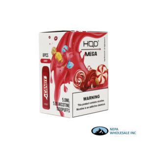 HQD Mega 5% Candy 1X8PK Disposable