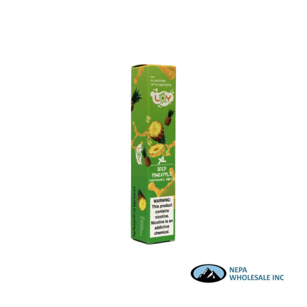 Loy XL 5% Iced Pineapple 1X10PK Disposable