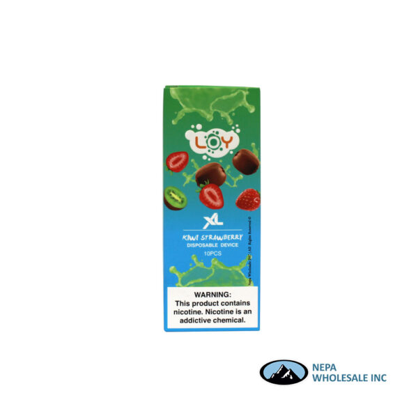 Loy XL 5% Kiwi Strawberry 1X10PK Disposable